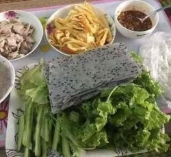 Bánh tráng mè đen - Xấp 100 cái, 2kg
