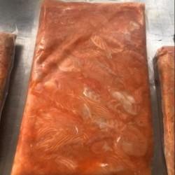 Vụn cá hồi Nauy (không xương) - Bịch 1kg